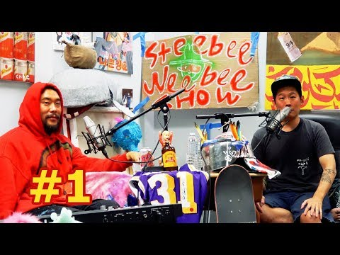 David Choe on The Steebee Weebee Show [part 1]