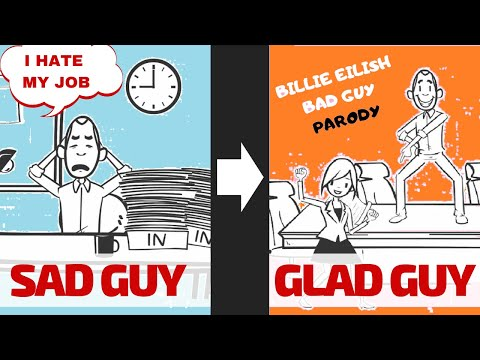 If You Hate Your Job / Unexpected Billie Eilish BAD GUY Parody