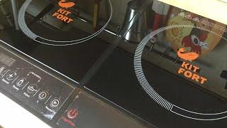 Обзор индукционной плиты фирмы KIT FORT  KT - 104    +РОЗЫГРЫШ :) ЗАВЕШЕН !!