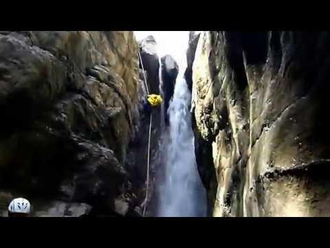 Trou Des Corneilles. Canyon Du 06 Alpes Maritimes - GO PRO HD
