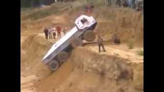 экстрим на грузовиках в горах(умение водитепей грузовой техники., 2014-01-28T07:38:21.000Z)
