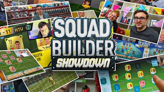 THE BEST OF SQUAD BUILDER SHOWDOWN!!!
