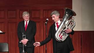 The Chicago Brass Quintet  Rejoice and Be Merry  &  Hark The Herald Angels Sing