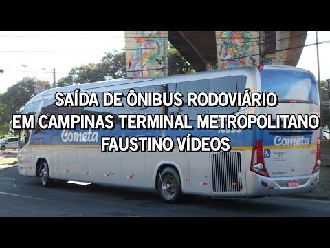 RÁPIDAS PASSADAS - ÔNIBUS RODOVIÁRIOS / TERMINAL METROPOLITANO MAGALHÃES TEIXEIRA - CAMPINAS SP