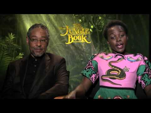 Lupita Nyong'o & Giancarlos Esposito interview for The Jungle Book