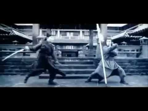 Hero Jet Li vs. Donnie Yen Fight  2002