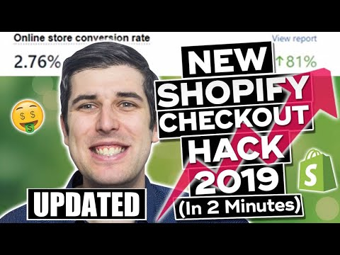 NEW FREE ULTIMATE SHOPIFY CHECKOUT HACK 2019 UPDATED | CONVERSION PIRATE HACK | CHECKOUT NUCLEAR thumbnail