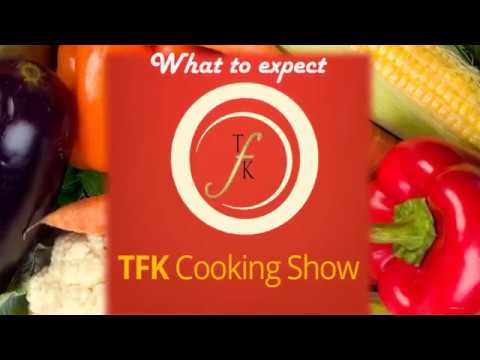 What to expect when you come to a TFK Cooking Show!
