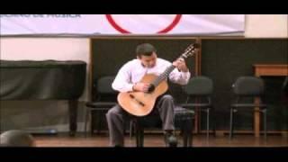 Manuel de Falla, Homenaje (Pour le Tombeau de Claude Debussy) - violão: João Paulo Pessoa.