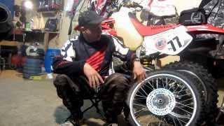 Эндуро шиномонтаж(Видеоролик ориентирован на начинающих любителей эндуро, людей недавно купивших эндуро мотоцикл. JOIN VSP..., 2013-08-19T09:09:35.000Z)