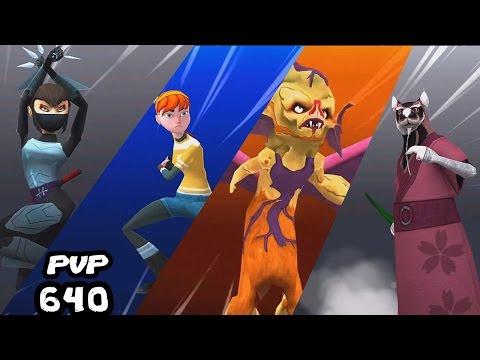 TMNT Legends PVP 640 (April O'Neil, Karai, Master Splinter, Kirby Bat)