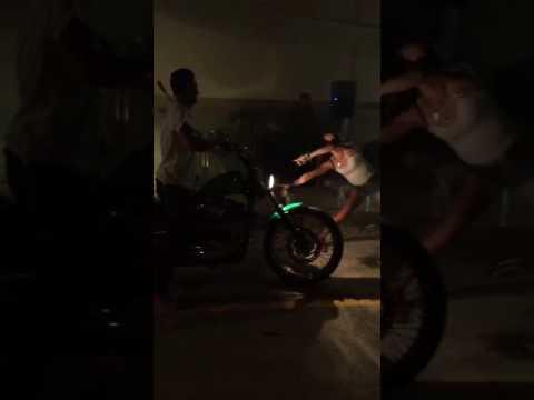 Burning Tubes by my brother at Grand Opening 01.10.2016 Ibiza Motor Monkey's  Garage