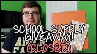 Back-to-School Supply Giveaway! (CLOSED) Thumbnail