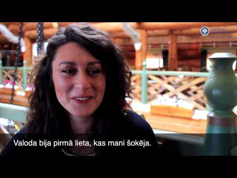 My Experience. University of Latvia - Grazia Tafuni