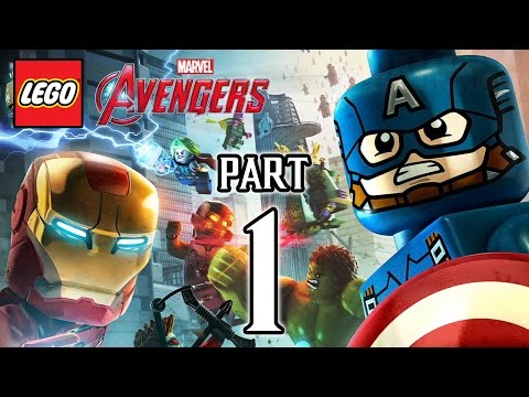 LEGO Marvel's Avengers Walkthrough PART 1 (PS4) Gameplay No Commentary  @ 1080p HD ✔