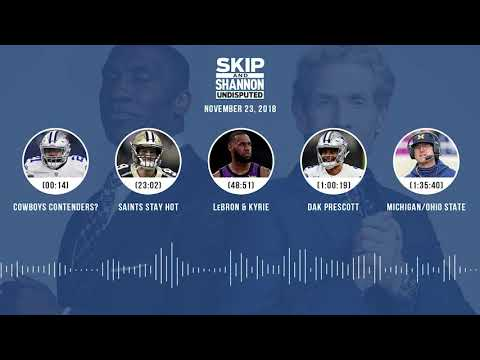 UNDISPUTED Audio Podcast (11.23.18) with Skip Bayless & Shannon Sharpe | UNDISPUTED