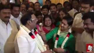 Mk Alagiri Birth day Celebration Vikatan Tv