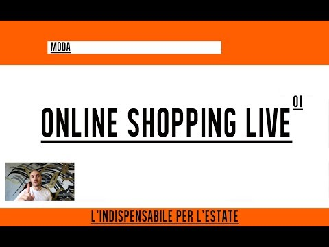 Shopping dall'uomo più ricco del mondo | Online Shopping Live 01 || Andrea Cimatti