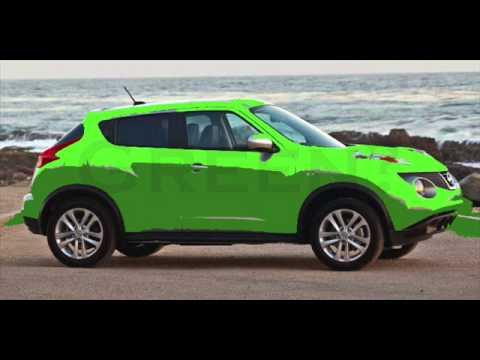 Nissan Juke Colors: Green, Yellow? - YouTube