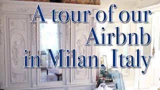 Gambar cover Apartment Tour | Milan, Italy Airbnb