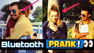 Bluetooth Prank-Flirting With Cute Girls Part #2 ||Luchcha Veer||