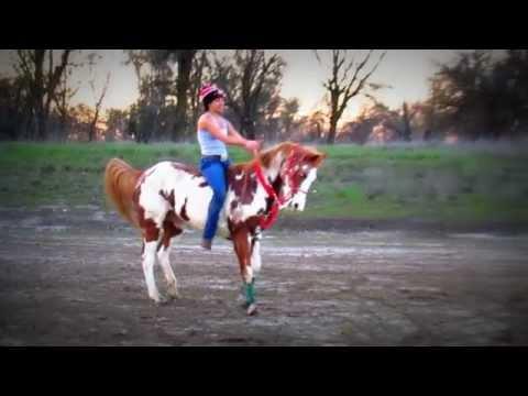 Galloping Bareback!