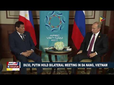 President Duterte, Putin hold bilateral meeting in Da Nang, Vietnam