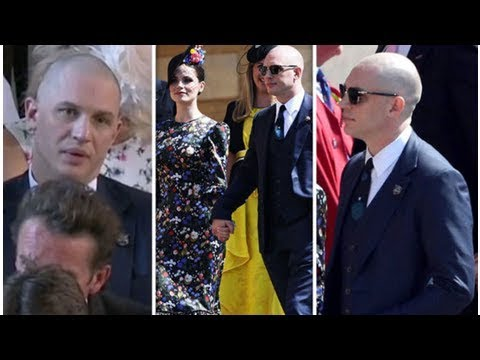 Tom Hardy Royal Wedding.Royal Wedding Tom Hardy S New Look At Meghan And Harry S Ceremony Turns Fans Into Frenzy