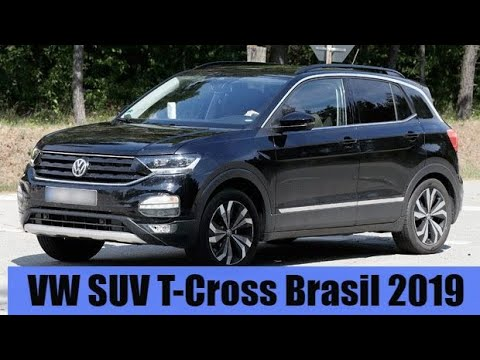 volkswagen t cross brasil 2019 suv motoreseacao youtube. Black Bedroom Furniture Sets. Home Design Ideas