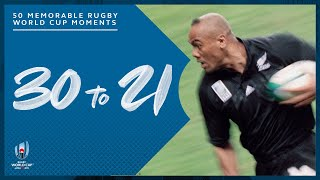 Most Memorable Moments in Rugby World Cup History | 30-21