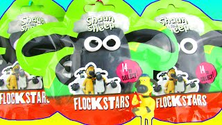 Shaun The Sheep Surprise Toys Blind Bags Mystery Mini Flock Stars Figures Toy Review Opening
