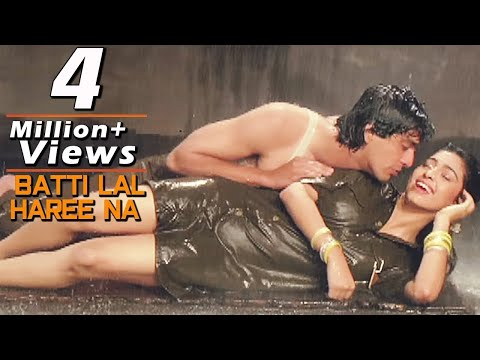 Batti Lal Haree Na - Bollywood Rain Songs | Juhi Chawla, Chunky Pandey | Zahreelay
