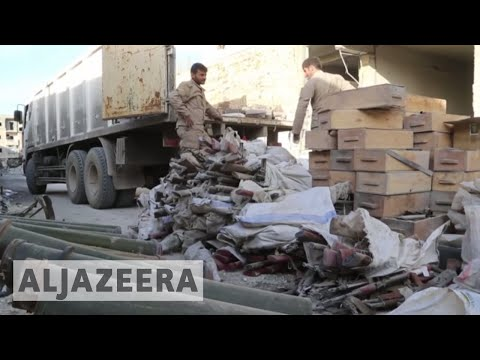 Raqqa: Displaced people in urgent need for basic infrastructure