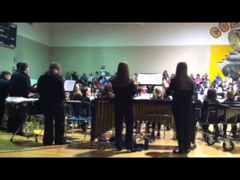 Coleman Middle School holiday concert