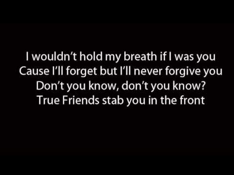 Bring Me The Horizon - True Friends (Lyrics)