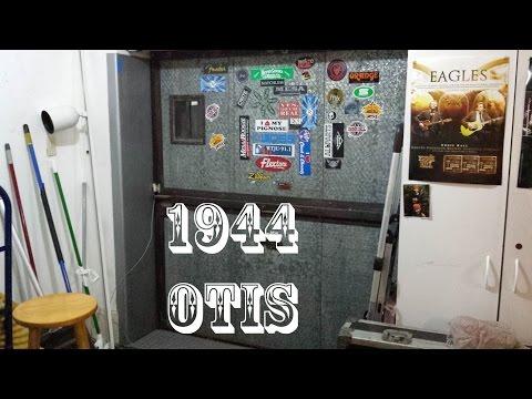 1944 Otis Traction Freight Elevator @ Metro Sound and Music Richmond VA