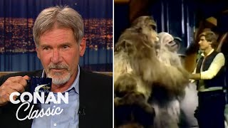 "Harrison Ford On The ""Star Wars Holiday Special"" - ""Late Night With Conan O'Brien"""