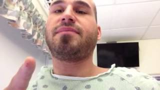 DAY 2 LOW BACK SURGERY L4-L5 disectomy/laminectomy