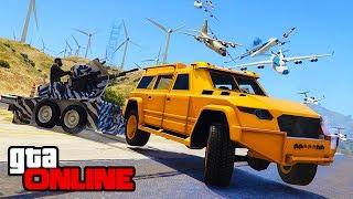 GUNRUNNING DLC! KAMIKAZE RUN! || GTA 5 Online || PC (Funny Moments)