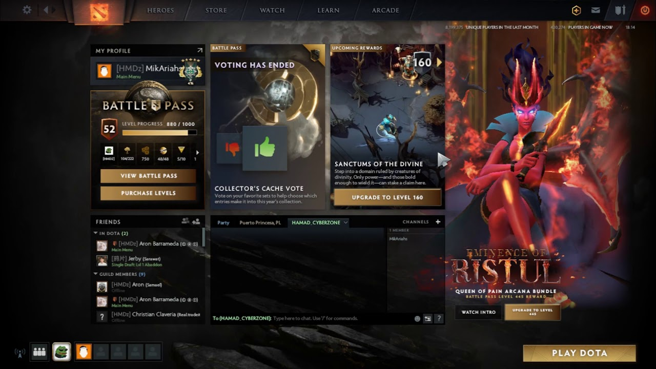 Dota 2 Battle Pass Side Shop