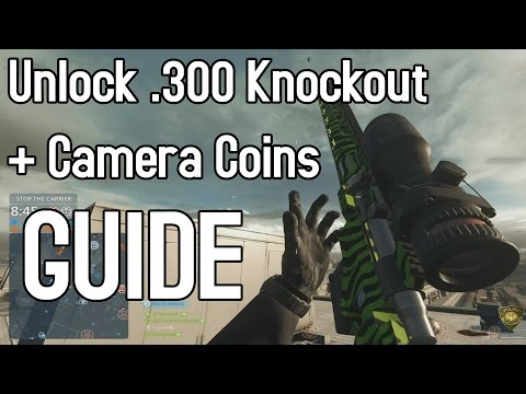 Battlefield Hardline: Unlock .300 Knockout + Camera Coins Guide