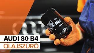Hogyan cseréljünk Főfényszóró AUDI 80 (8C, B4) - video útmutató