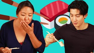Japanese Millennials Try Drugstore Sushi