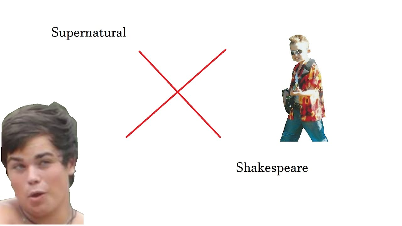 supernatural x shakespeare supernatural x shakespeare