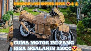ALHAMDULILAH BELI MOTOR BARU LAGI BUAT NGALAHIN NINJA 250CC WKWK ! NINJA ZX 150R MADEP INIMAH !