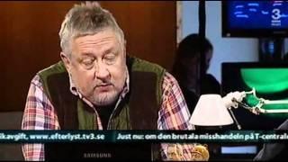Tungan slinter på Leif GW Persson i Efterlyst 25 November 2009