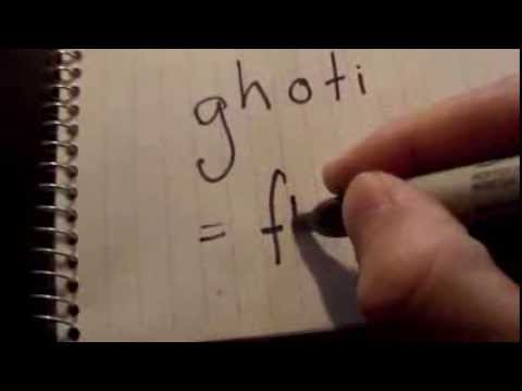 GHOTI: The Wonderful World Of English