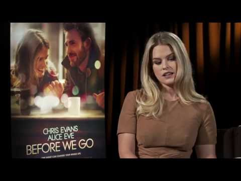 Alice Eve Interview - Before We Go (HD) 2015