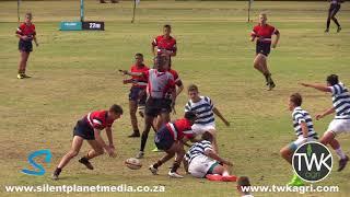 School Rugby Action - u/15 HTS Middelburg vs Garsfontein 12-05-18