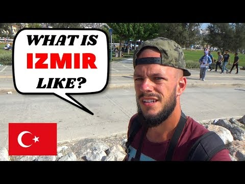 What Is IZMIR TURKEY LIKE? FIRST IMPRESSIONS - Travel Vlog